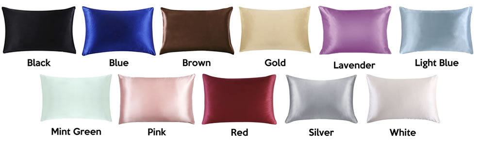 where to buy satin silk pillowcases online